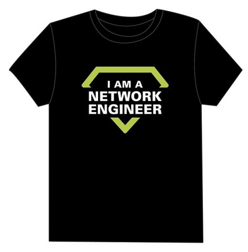 Camiseta I Am a Network Engineer