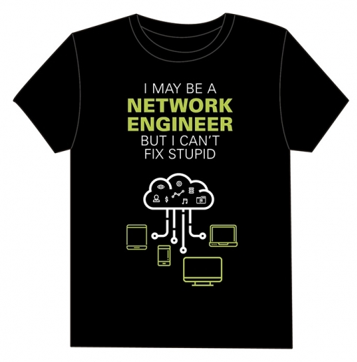 Camiseta I May Be a Network Engineer