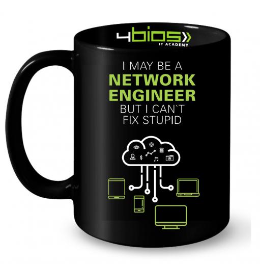 Caneca I May Be a Network Engineer